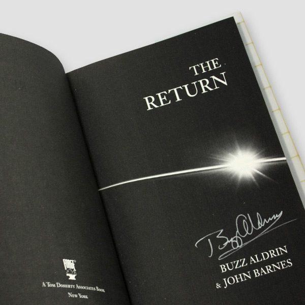Buzz Aldrin Signed Book 'The Return'