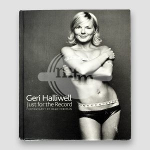 Gerri Halliwell Signed Book 'Just For The Record'