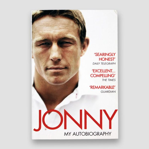 Jonny Willkinson Signed Paperback Autobiography MFM Sports Memorabilia