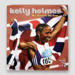 Kelly-Holmes-signed-Hardback-book-'My-Olympic-Ten-Days'