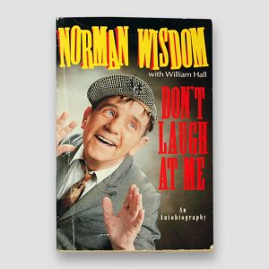 Norman Wisdom Signed autobiography 'Don't laugh at Me' Paperback Book