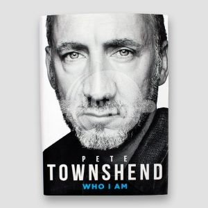 Pete Townshend Signed Book 'Who I am'