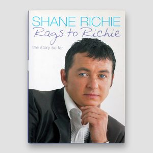 Shane Richie signed Autobiography 'Rags to Richie'