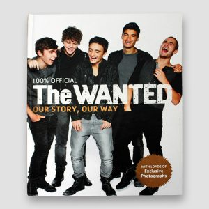 The Wanted Signed Book 'Our Story, Our Way'