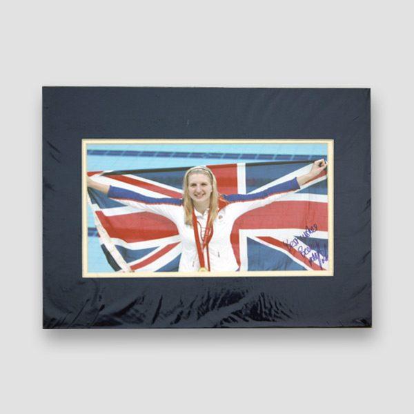 Rebecca Adlington Signed Photo Print MFM Sports Memorabilia