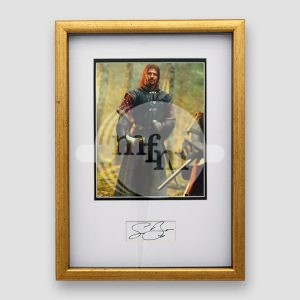 Sean Bean Photo (As Boromir) and Autograph (Framed)