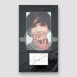 Sharleen Spiteri Photo Print Mounted with Autograph MFM Sports Memorabilia