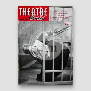 Sir Norman Wisdom Signed Theatre World Magazine MFM Sports Memorabilia