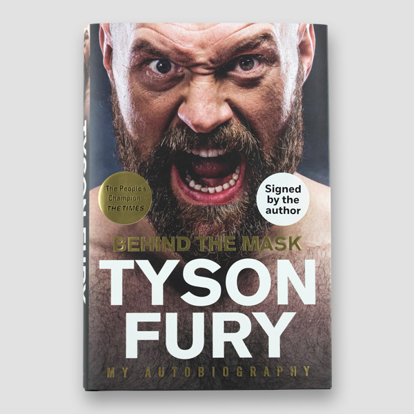 Autobiography 'Behind the Mask'  Signed by Tyson Fury. Brand New, Unread