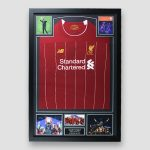 Football Shirt signed by Firmino in Frame