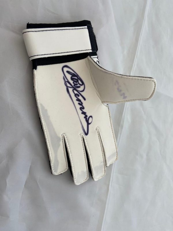 Ray Clemence Signed Goalkeeper Glove see photo