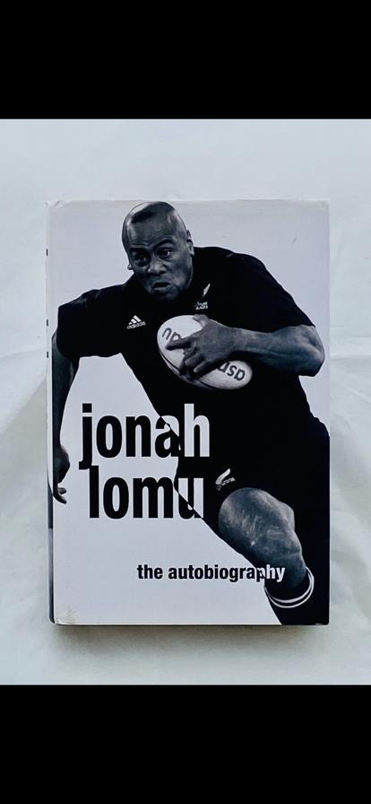 Jonah Lomu signed Autobiography , New Zealand Rugby Union star. Rare