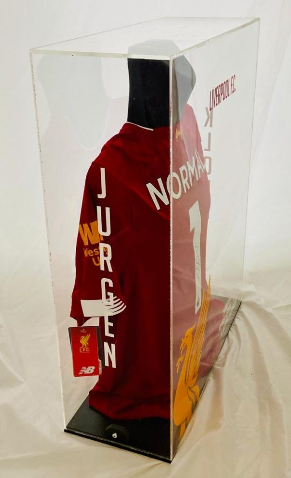 Liverpool Football Shirt signed by Jurgen Klopp [The Normal One] In superb display box