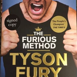 Autobiography 'The Furious Method'  Signed by Tyson Fury. Brand New, Unread