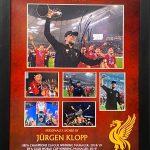 Man Utd Framed Montage of Celebrations Of champions league final 1999 signed by ole Gunnar solskjaer